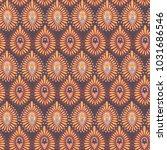 seamless pattern in indian... | Shutterstock . vector #1031686546