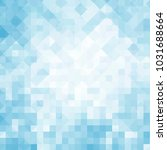 abstract square pixel mosaic... | Shutterstock . vector #1031688664