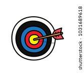 arrow   arrow target | Shutterstock .eps vector #1031689618