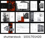 design photography portfolio ... | Shutterstock .eps vector #1031701420