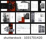 design photography portfolio ... | Shutterstock .eps vector #1031701420