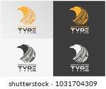 tyre service center shop logo | Shutterstock .eps vector #1031704309
