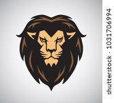 lion head mascot logo design...   Shutterstock .eps vector #1031706994