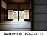 tatami mats and translucent... | Shutterstock . vector #1031716444
