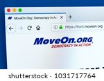Small photo of LONDON, UK - FEBRUARY 22ND 2018: The homepage of the official website for MoveOn.org - the American progressive policy advocacy group and political action committee, on 22nd February 2018.