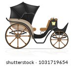 carriage for transportation of people vector illustration isolated on white background