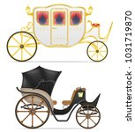 carriage for transportation of... | Shutterstock .eps vector #1031719870
