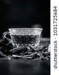 ayurvedic herb liquorice root... | Shutterstock . vector #1031725684