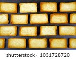 sweet and crispy toast... | Shutterstock . vector #1031728720