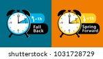 daylight saving time. summer... | Shutterstock . vector #1031728729