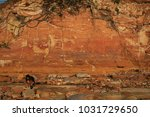 red rocks in outback australia | Shutterstock . vector #1031729650