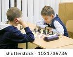 cute kid smiles because he...   Shutterstock . vector #1031736736
