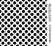 seamless black polka dot... | Shutterstock .eps vector #1031739238