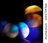 bokeh flare effect background... | Shutterstock . vector #1031739364