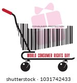 a trolley from the store with a ...   Shutterstock .eps vector #1031742433