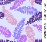 seamless floral pattern with... | Shutterstock .eps vector #1031754850