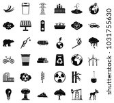 protection of ecology icons set.... | Shutterstock . vector #1031755630