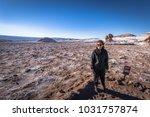 atacama desert  chile   july 16 ... | Shutterstock . vector #1031757874