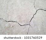 cracked concrete wall texture... | Shutterstock . vector #1031760529