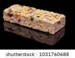 granola bar with fruits and nuts | Shutterstock . vector #1031760688
