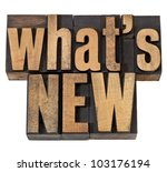 what is new   news concept  ... | Shutterstock . vector #103176194