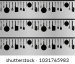 wallpaper with a pattern of... | Shutterstock .eps vector #1031765983