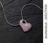 Pendant Necklace Jewellery Heart