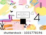 abstract universal art web... | Shutterstock .eps vector #1031778196