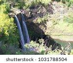 hawaiian landscapes  kauai ...   Shutterstock . vector #1031788504
