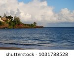 hawaiian landscapes  kauai ...   Shutterstock . vector #1031788528