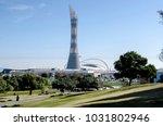 doha  qatar   february 13  2018 ... | Shutterstock . vector #1031802946