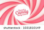 Sweet Candy Swirl Vector...
