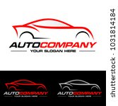 car logo vector illustration.... | Shutterstock .eps vector #1031814184