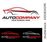 car logo vector illustration.... | Shutterstock .eps vector #1031814190