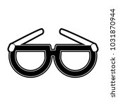 glasses isolated symbol