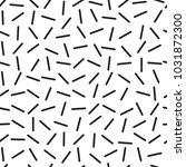memphis pattern  seamless trend ...   Shutterstock .eps vector #1031872300