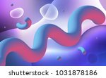 light pink  blue vector... | Shutterstock .eps vector #1031878186