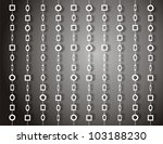 door curtain with round and... | Shutterstock . vector #103188230