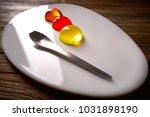 molecular cuisine concept...   Shutterstock . vector #1031898190