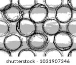 seamless black and white... | Shutterstock .eps vector #1031907346