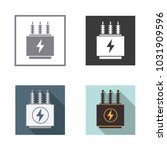 Electrical Transformer Icons...