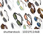 set of sunglasses isolated on...