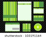 vector template for business...   Shutterstock .eps vector #103191164