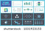 startup charts slide templates... | Shutterstock .eps vector #1031923153