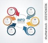 vector infographic template for ...   Shutterstock .eps vector #1031926036