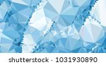 low polygonal mosaic layout for ...   Shutterstock .eps vector #1031930890