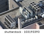 Exhaust Vents Of Industrial Air ...