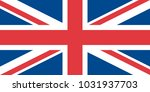 flag of the united kingdom | Shutterstock .eps vector #1031937703