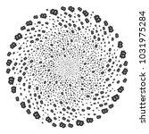 baht curl spin. element burst...   Shutterstock .eps vector #1031975284