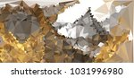 low polygonal mosaic layout for ...   Shutterstock .eps vector #1031996980